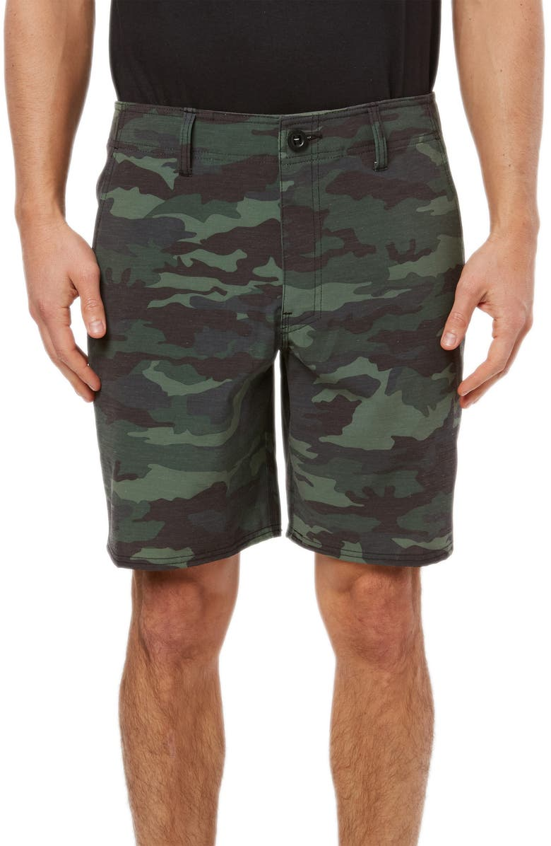 O'NEILL Tropic Garden Hybrid Shorts, Main, color, 310