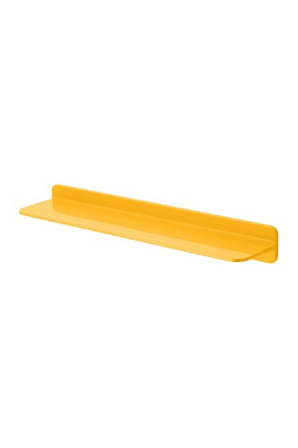 Image of Honey-Can-Do Yellow 60cm Shelf