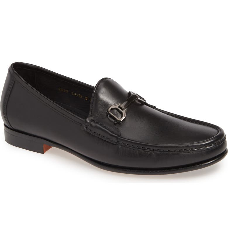 ALLEN EDMONDS Vinci Bit Loafer, Main, color, BLACK