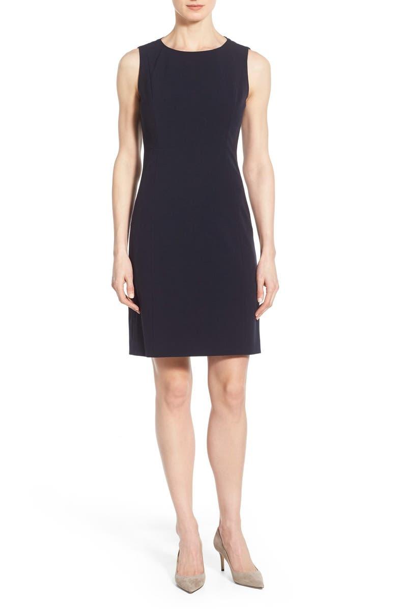 T TAHARI 'Cali' Dress, Main, color, 410