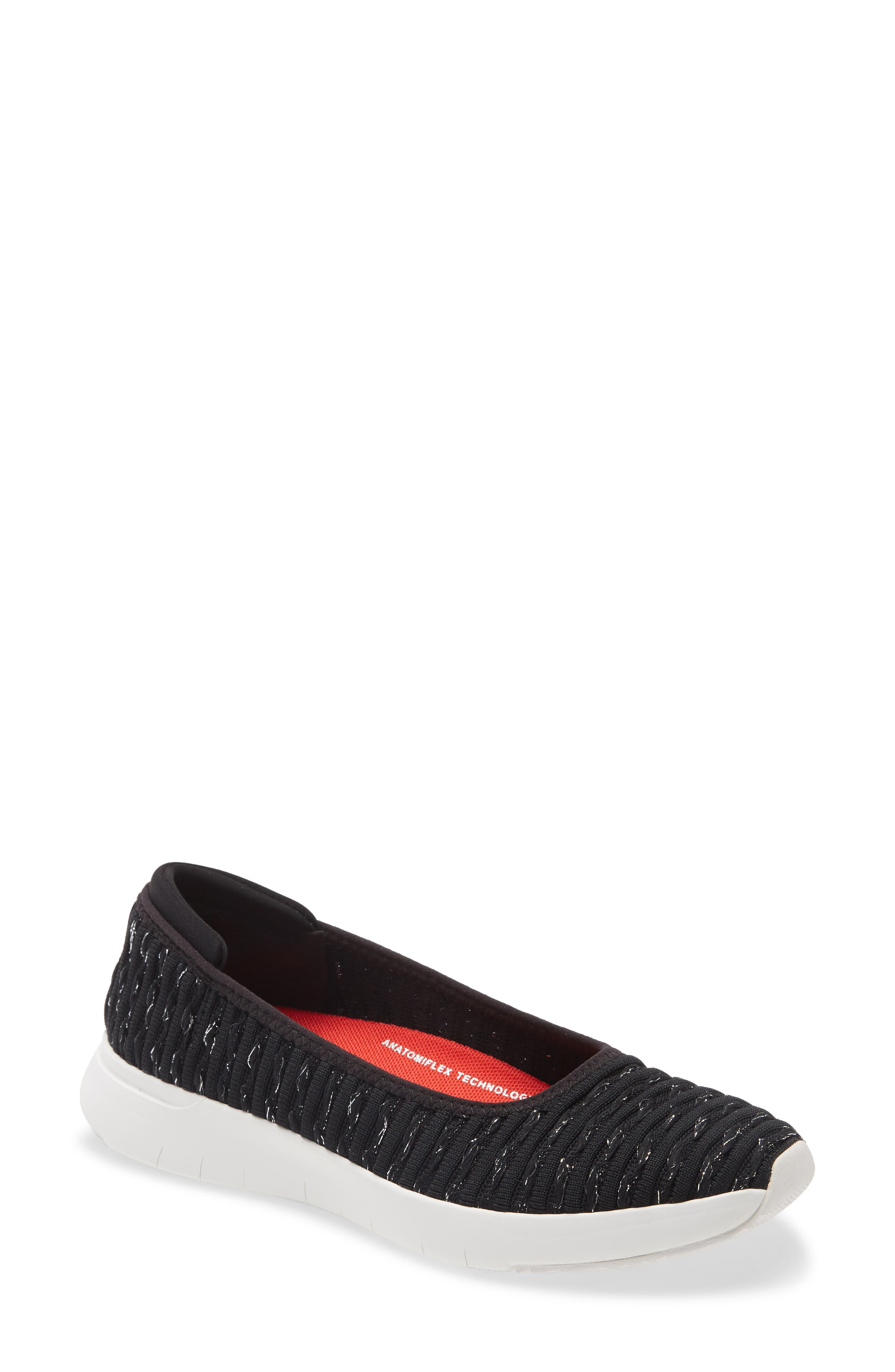 Image of Fitflop Knit Ballerina Flat