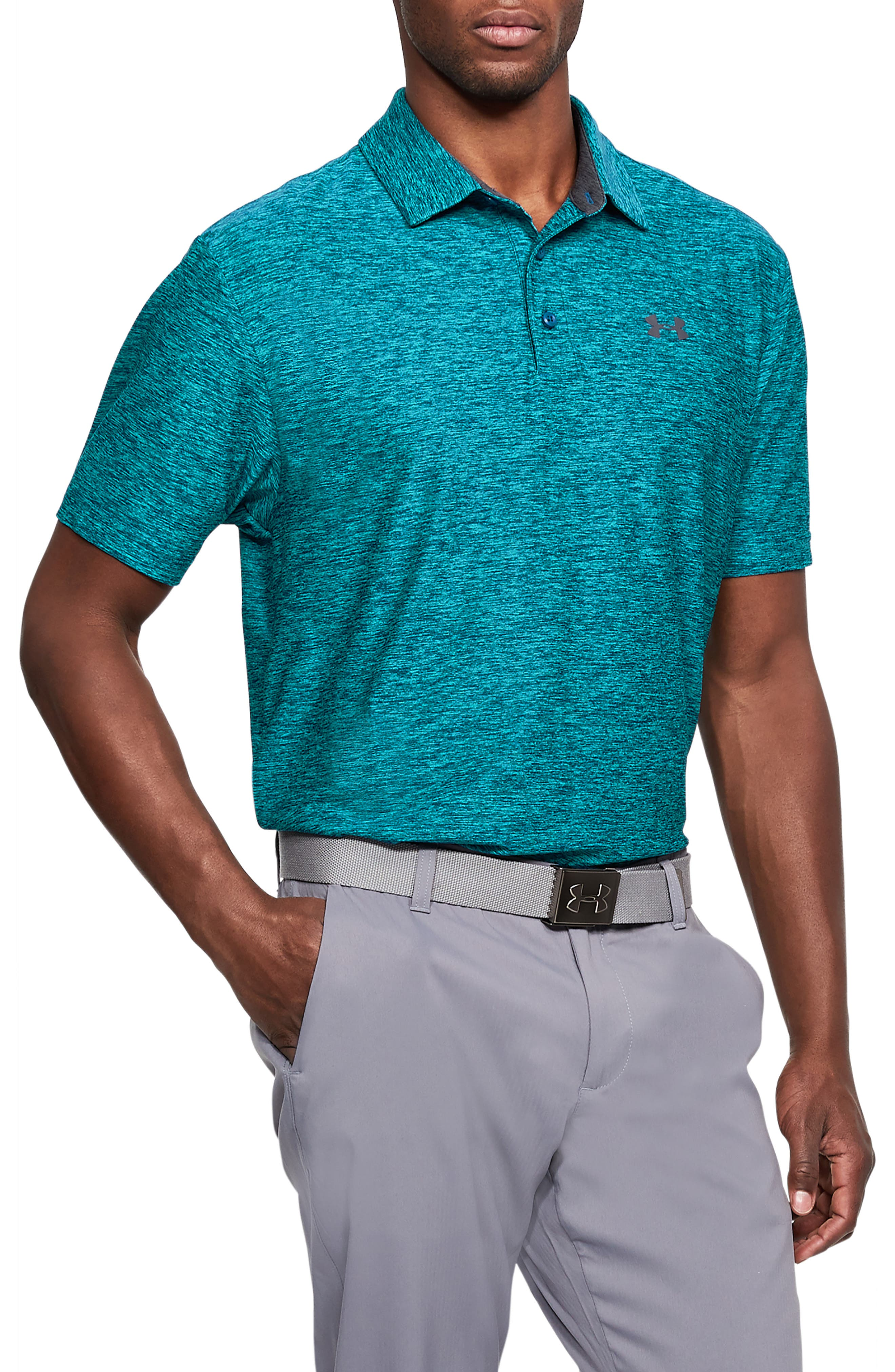 ,                             'Playoff' Loose Fit Short Sleeve Polo,                             Main thumbnail 72, color,                             477