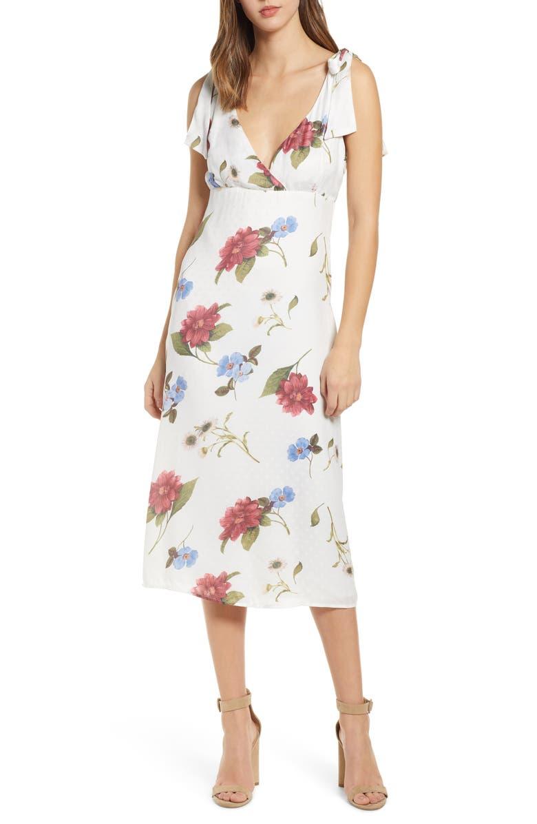 SHOW ME YOUR MUMU Arlene Midi Dress, Main, color, 100