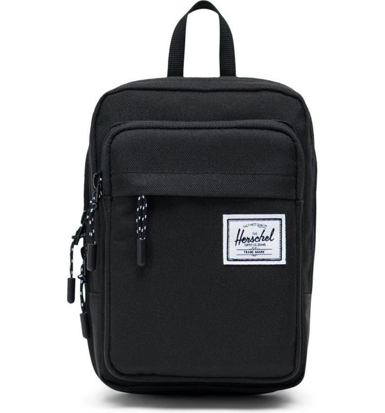 HERSCHEL SUPPLY CO. Large Form Shoulder Bag, Main, color, BLACK