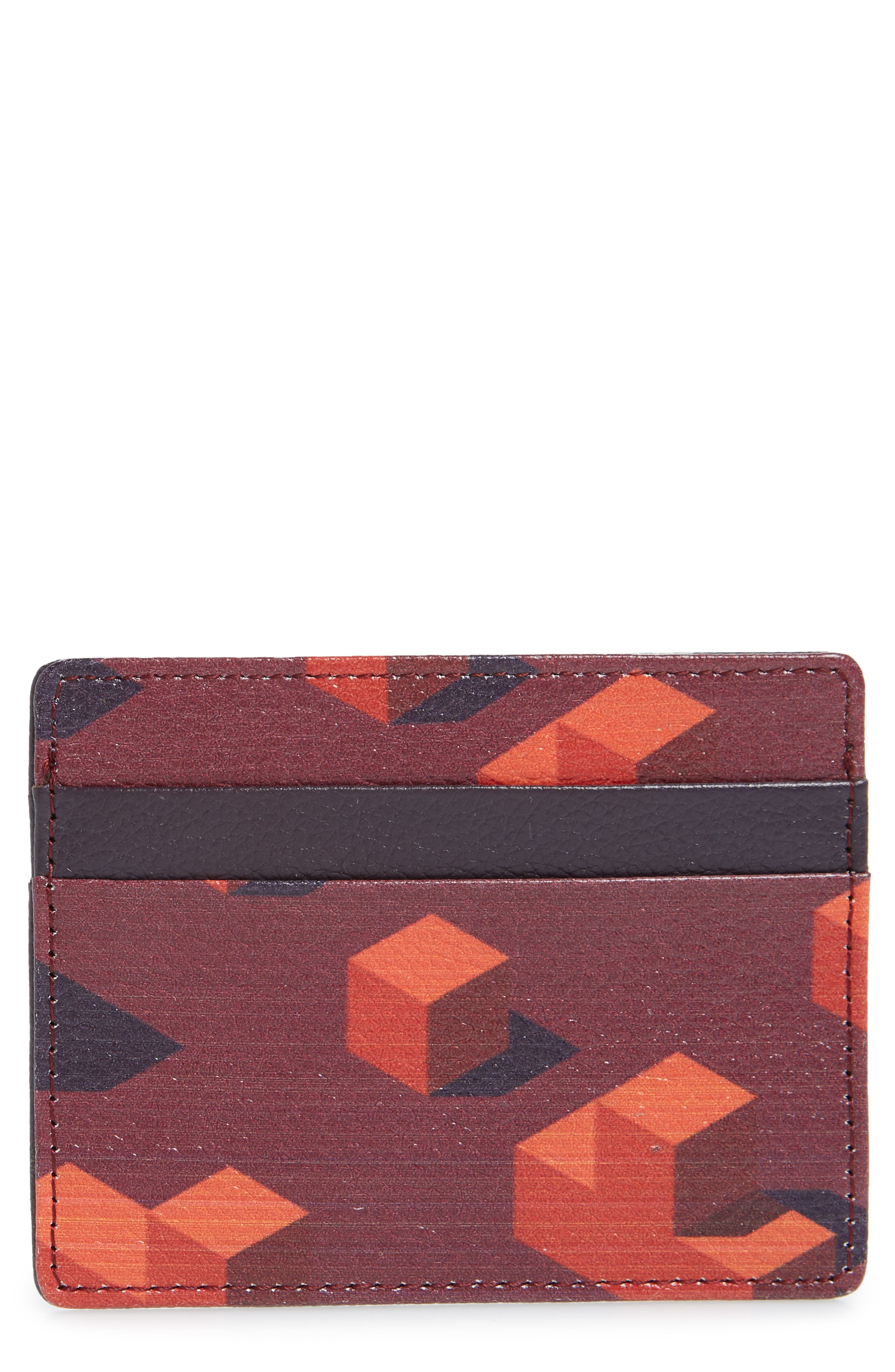 ,                             Jamie Leather Card Case,                             Main thumbnail 51, color,                             510