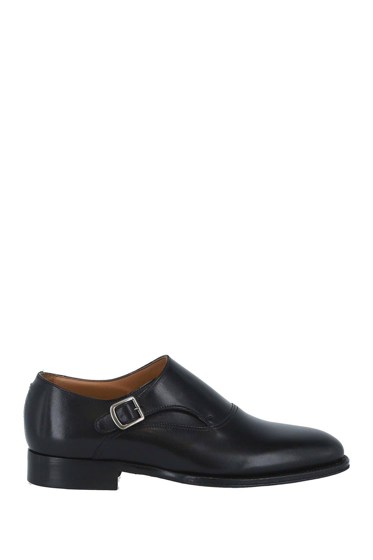 Image of dunhill Plain Toe Monk Strap Loafer