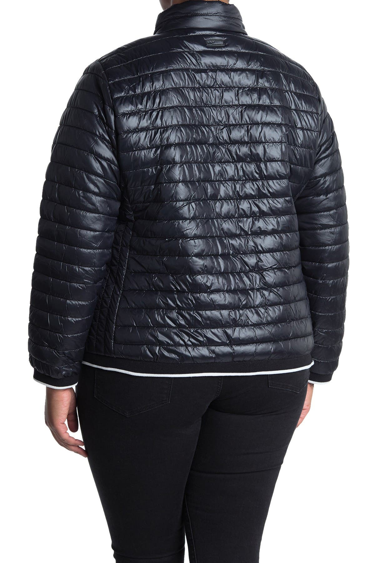 Image of MARC NEW YORK PERFORMANCE Zip Front Packable Puffer Jacket