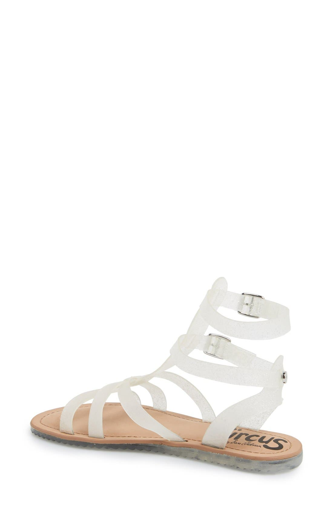 ,                             'Selma' Gladiator Sandal,                             Alternate thumbnail 7, color,                             040