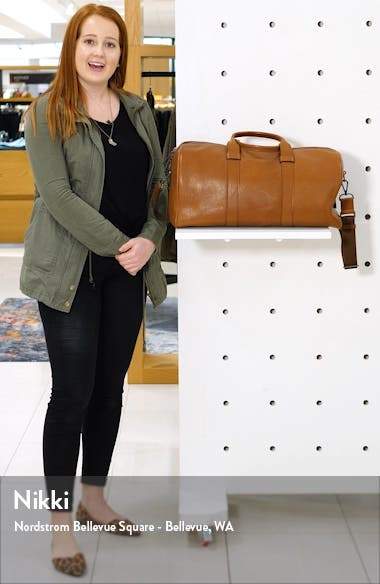 Guardian Leather Duffle Bag, sales video thumbnail