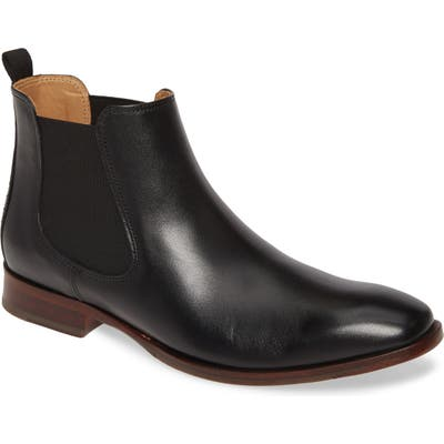 Johnston & Murphy Mcclain Chelsea Boot- Black