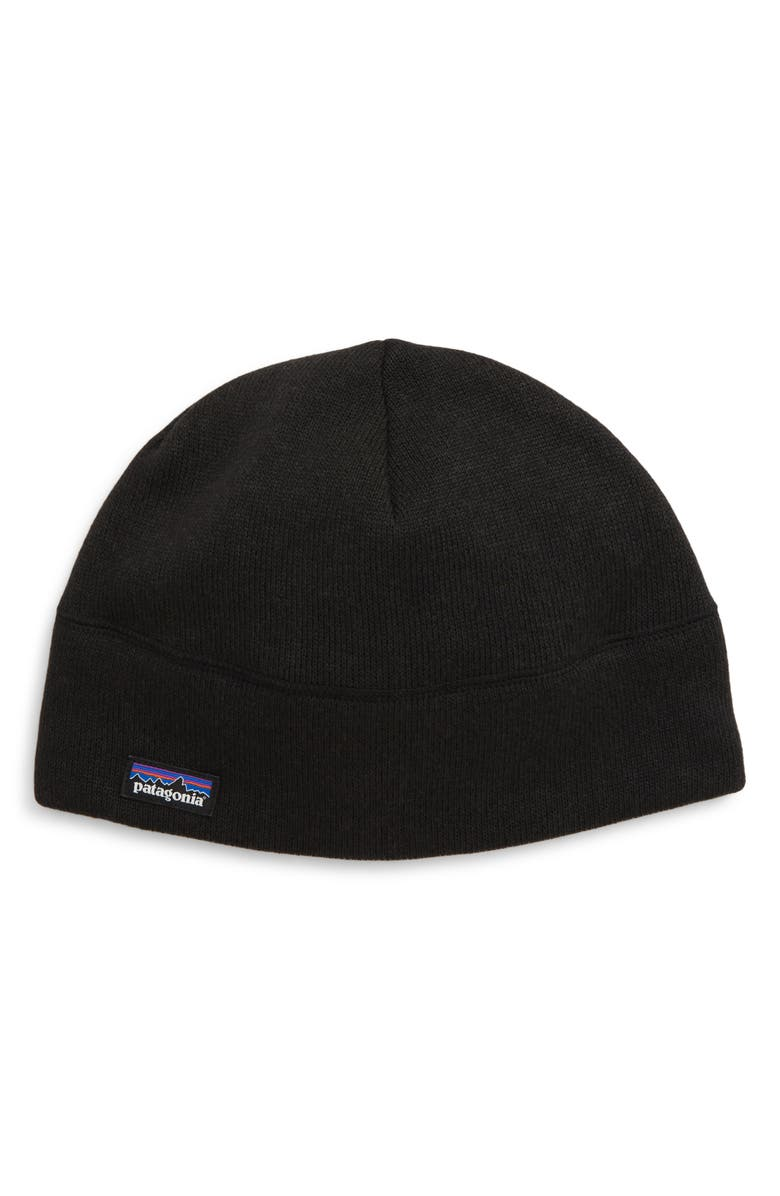 PATAGONIA Better Sweater Beanie, Main, color, BLACK