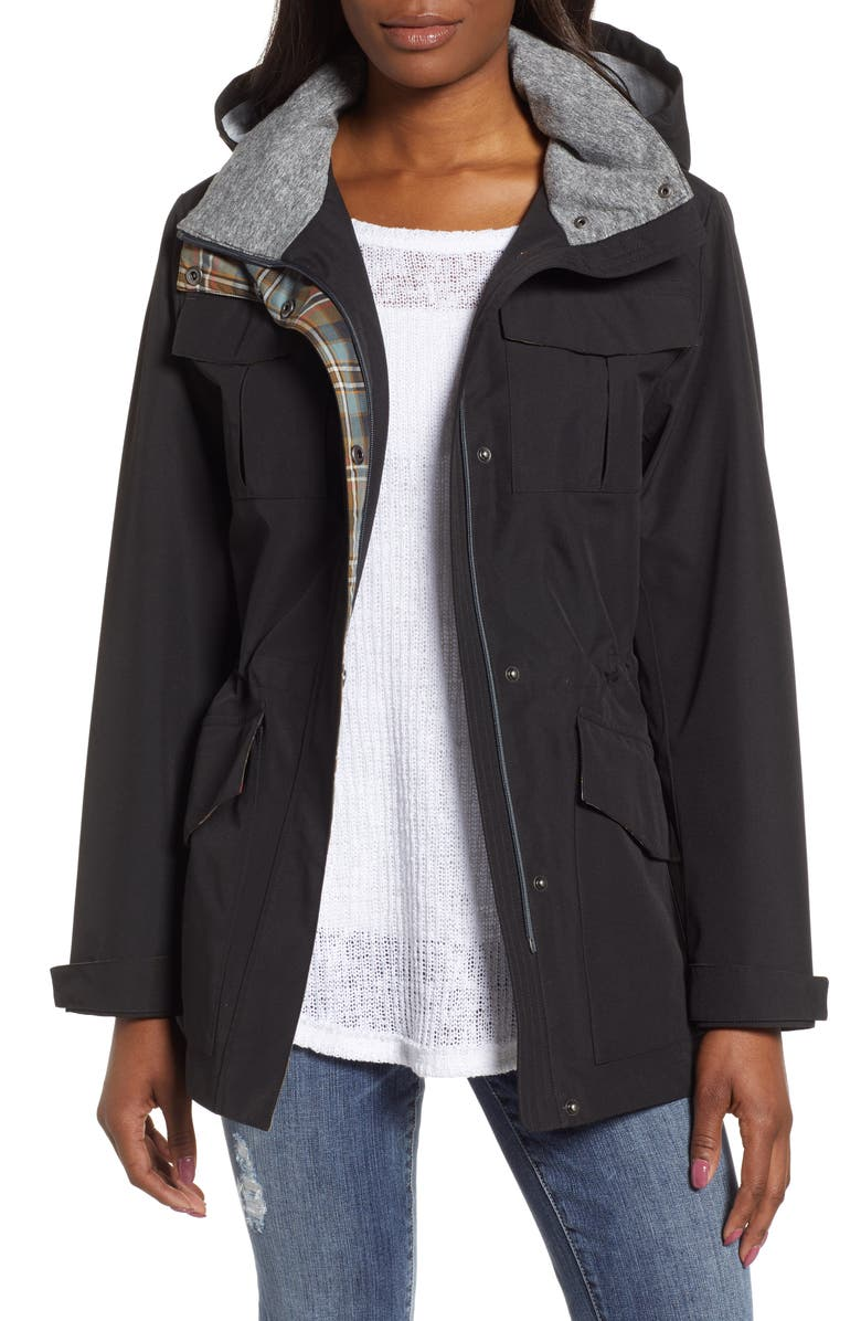 PENDLETON Lihn Hooded Utility Jacket, Main, color, 001