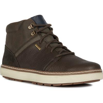 Geox Mattias Abx Waterproof Sneaker, Brown