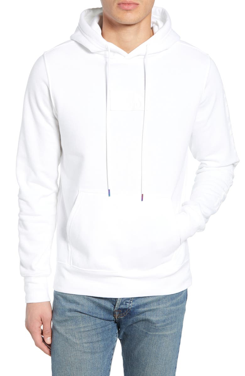 THE NORTH FACE Urban Ex Collection Pullover Hoodie, Main, color, TNF WHITE