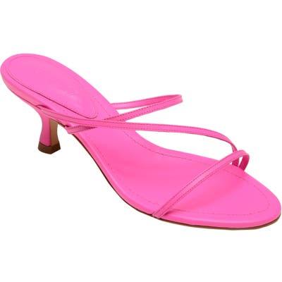 Schutz Evenise Slide Sandal- Pink