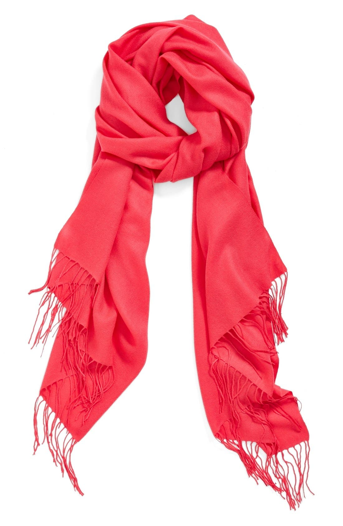 ,                             Tissue Weight Wool & Cashmere Wrap,                             Main thumbnail 182, color,                             665