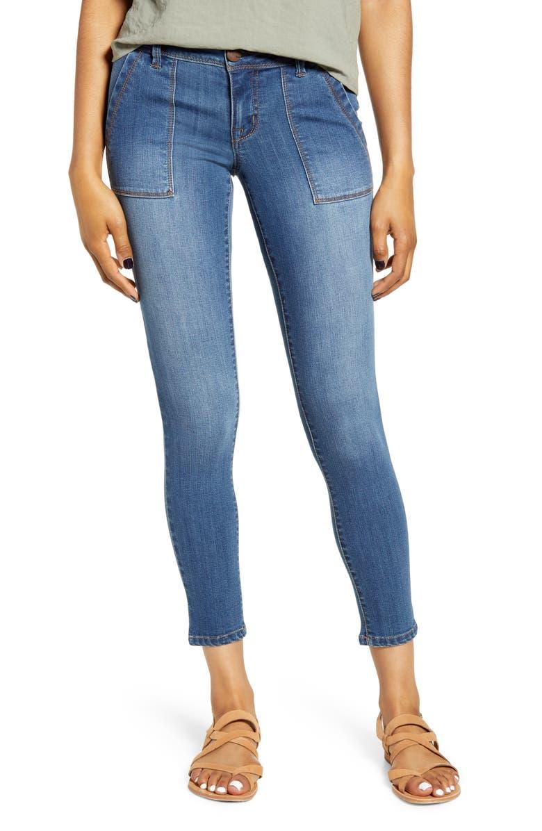 1822 DENIM Pork Chop Skinny Jeans, Main, color, FRIDA