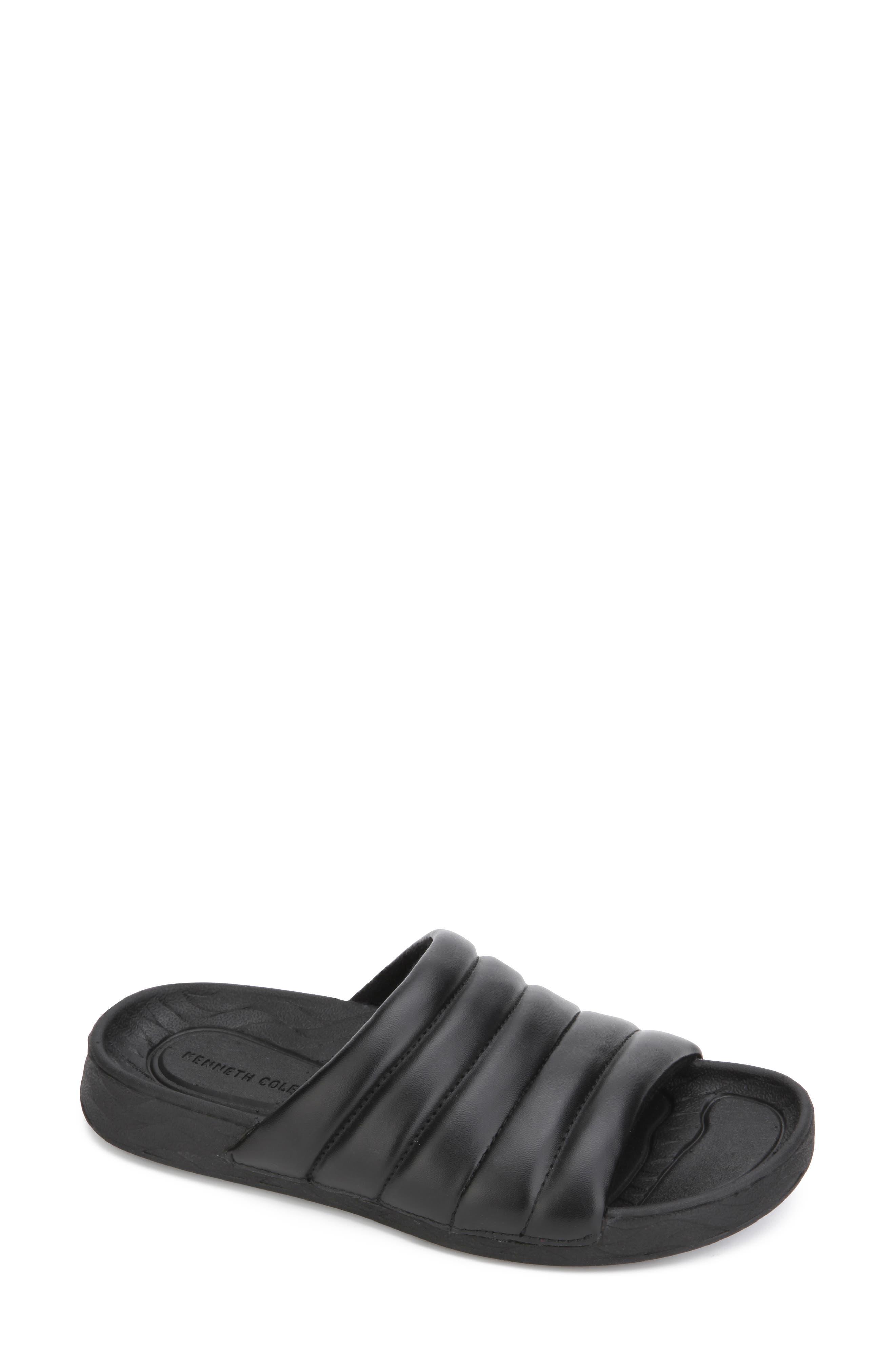 Nova Quilted Slide Sandal