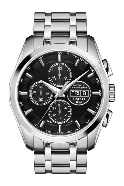 Image of Tissot Men's Couturier Swiss Automatic Watch, 43mm