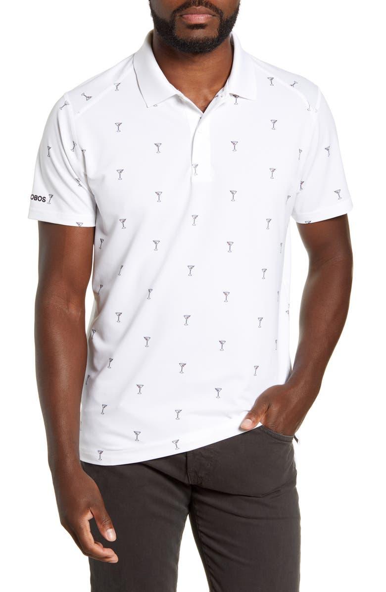 BONOBOS M-Flex Flatiron Limit Slim Fit Golf Polo, Main, color, MARTINI