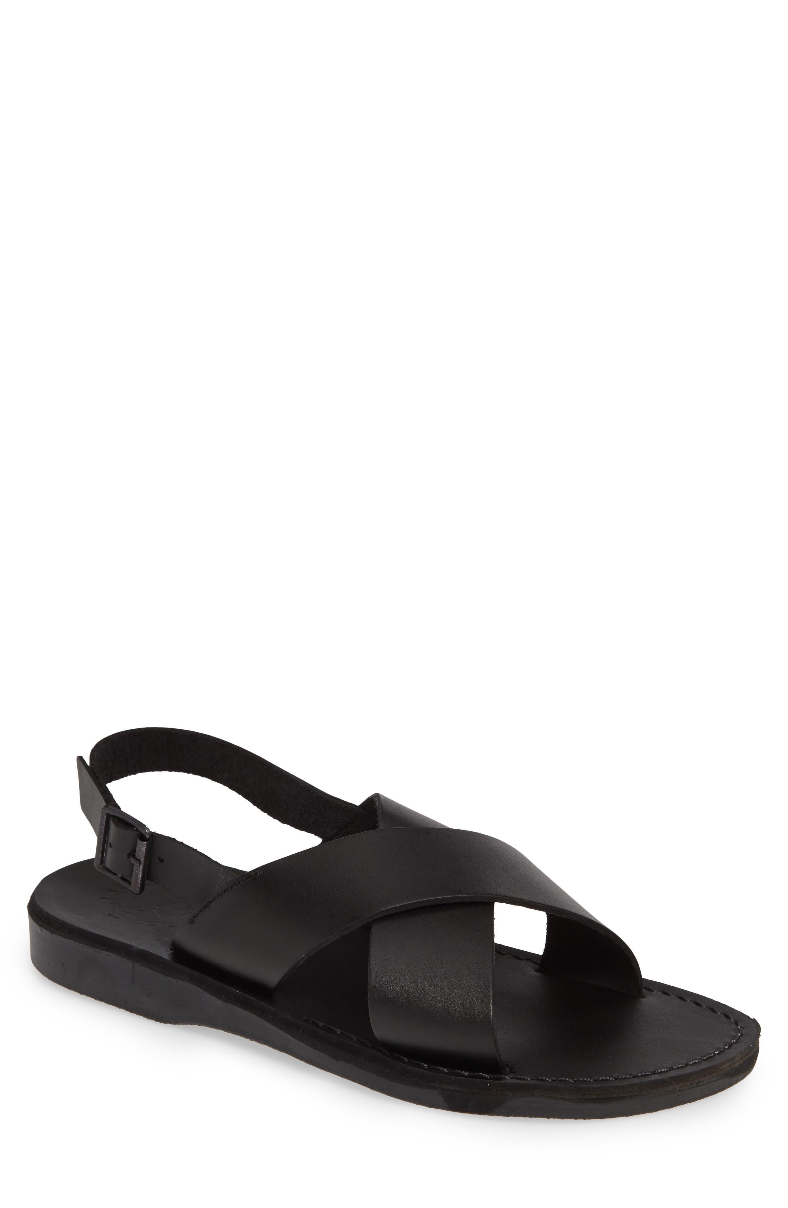 Elan Sandal, Main, color, BLACK