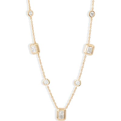 Nadri Mila Emerald Cut Necklace