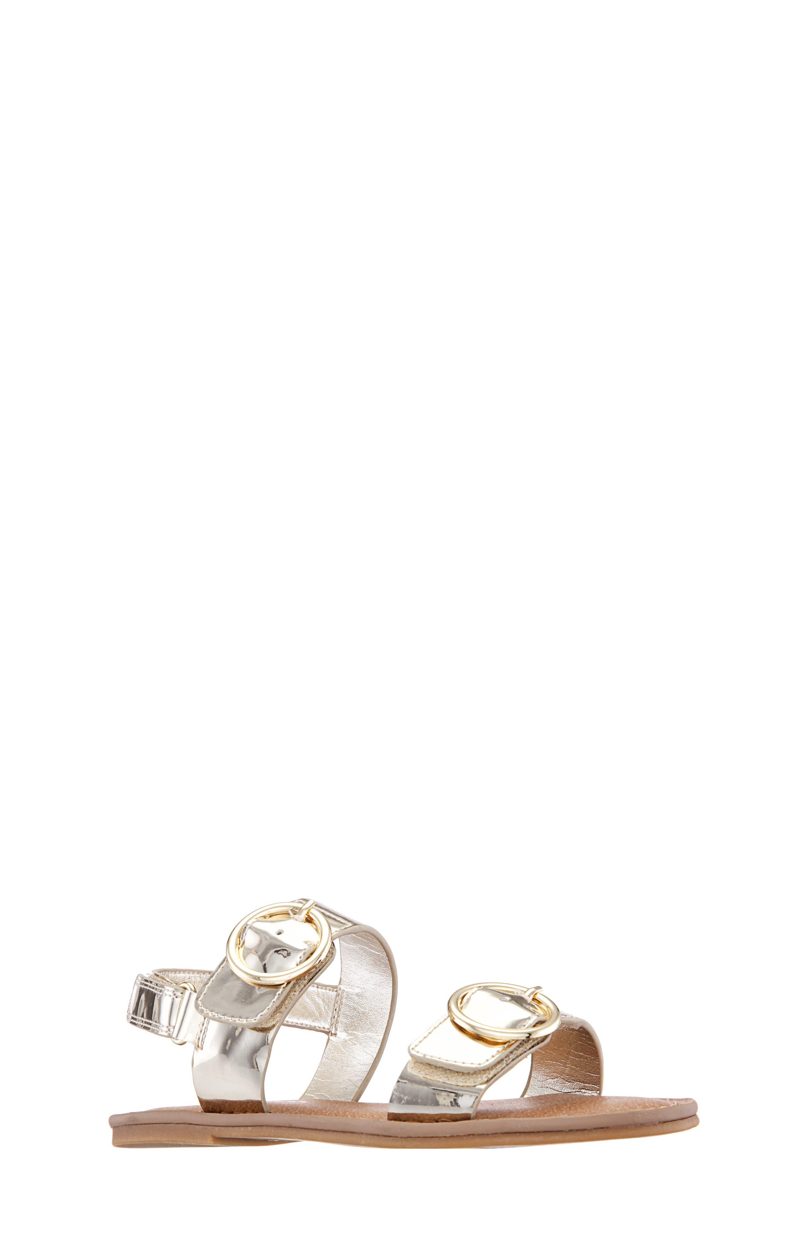 Girls Nina Brunny Sandal Size 5 M  Metallic