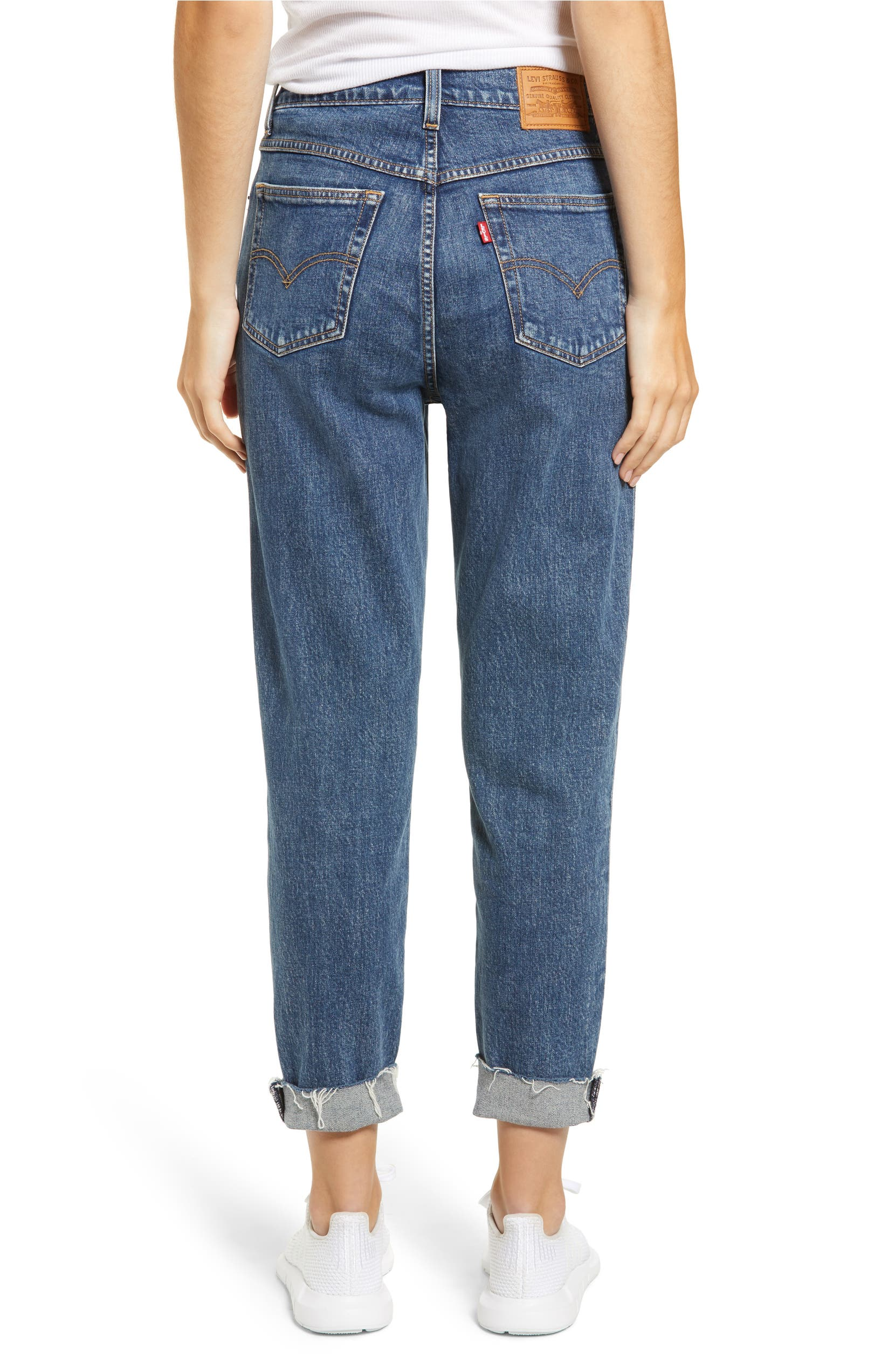 6a3b57e0429379 Levi's® High Waist Ankle Mom Jeans (Moms the Word) | Nordstrom