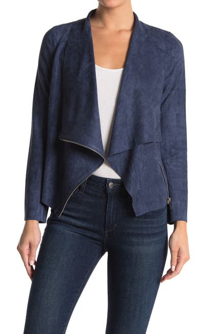 Image of Love Token Emery Faux Suede Jacket