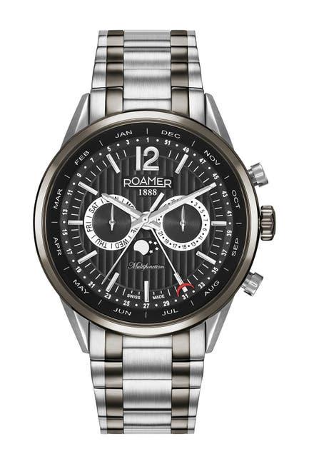 Image of Roamer Men's Superior Business Multi-Function Bracelet Watch