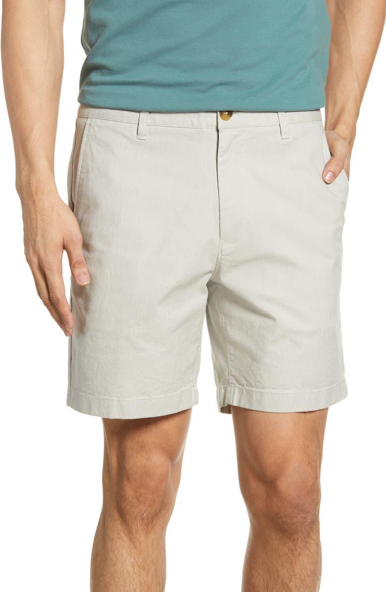 BONOBOS Oxford Chino Shorts, Main, color, LIGHT GREY
