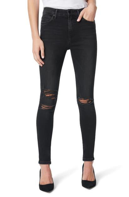 Joe's Jeans THE CHARLIE HIGH WAIST SKINNY JEANS