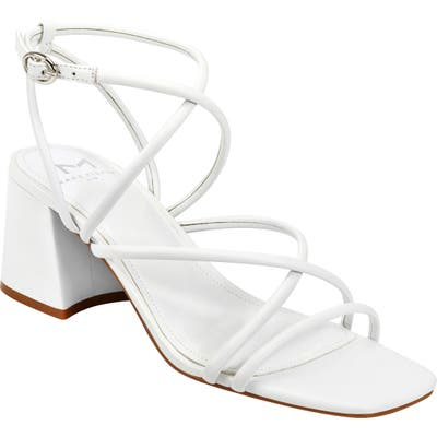 Marc Fisher Ltd Nakita Sandal- White