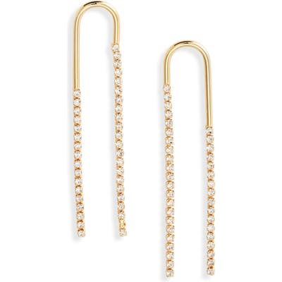 Bracha Jules Cubic Zirconia Drop Earrings