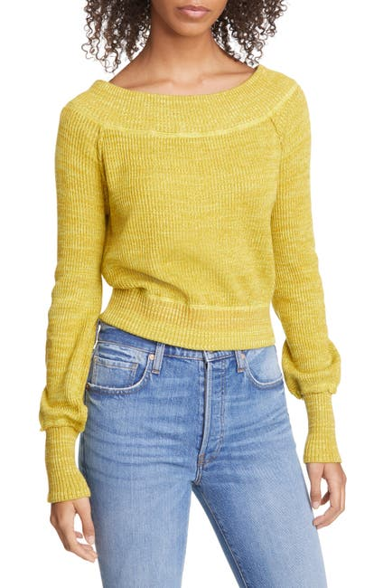 Image of Free People Sugar Rush Off the Shoulder Sweater