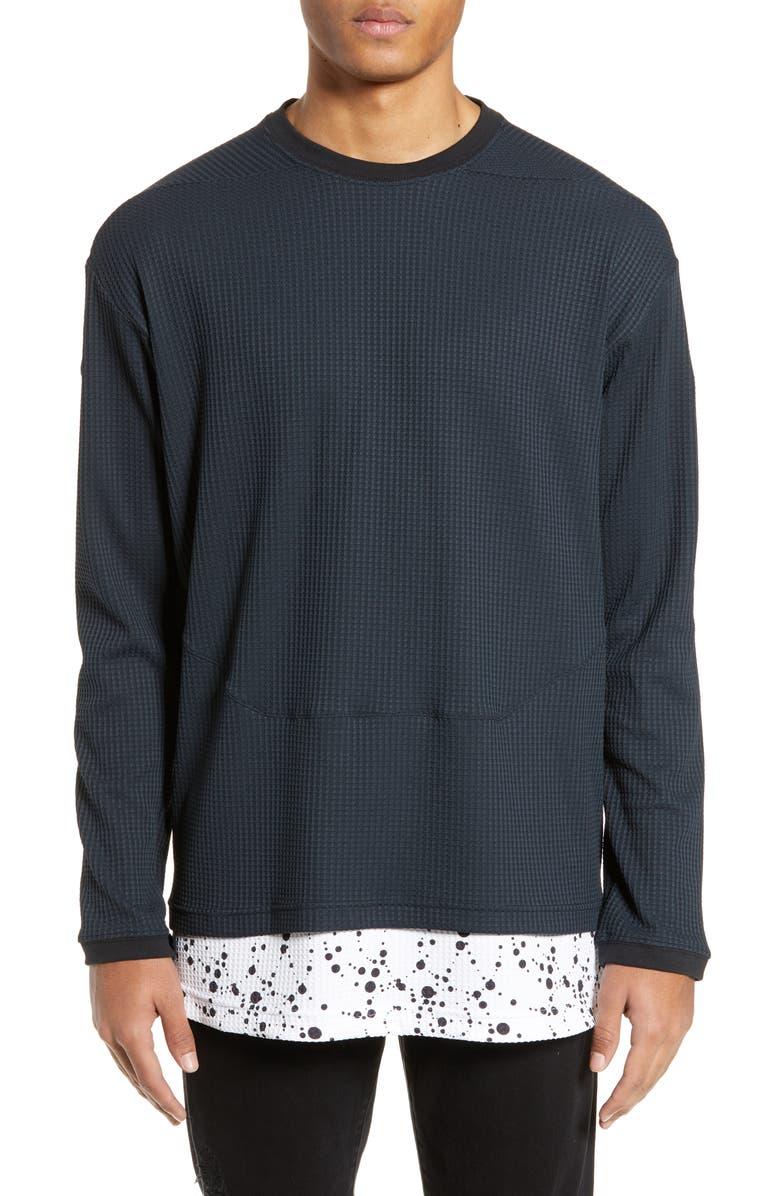 NIKE NikeLab ACG Men's Long-Sleeve Top, Main, color, BLACK/ WHITE