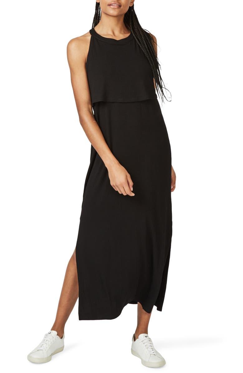 SWEATY BETTY Holistic Dress, Main, color, BLACK