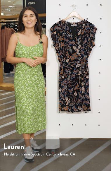 Printed Tie Waist Dress, sales video thumbnail
