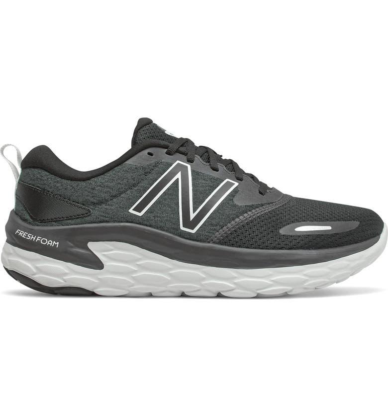 NEW BALANCE Fresh Foam Altoh Running Sneaker, Main, color, BLACK/WHITE