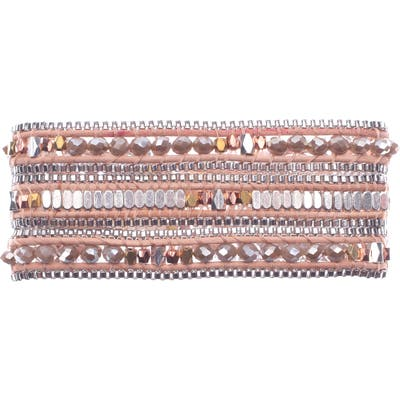Nakamol Design Beaded Wrap Bracelet
