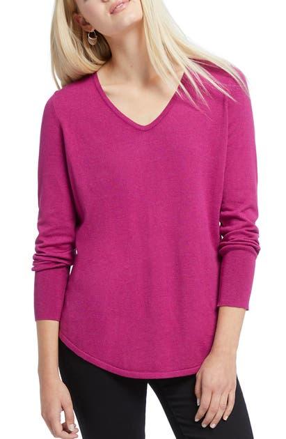 Nic+zoe Sweaters VITAL V-NECK SWEATER