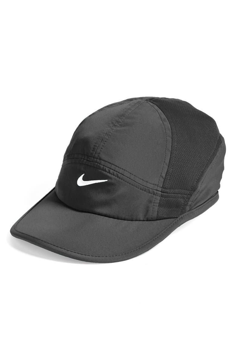 NIKE 'Featherlight 2.0' Dri-FIT Cap, Main, color, 010