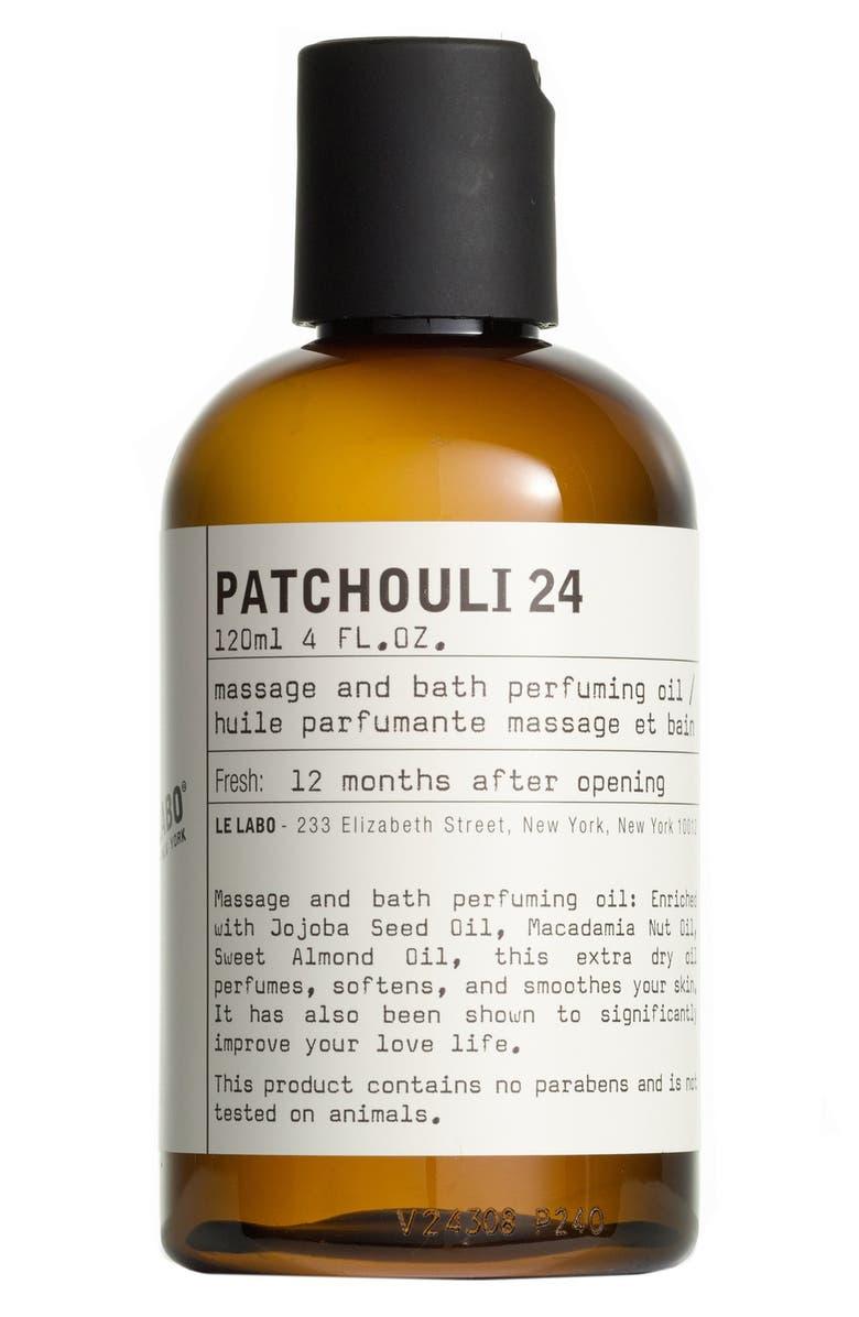 LE LABO 'Patchouli 24' Body Oil, Main, color, NO COLOR