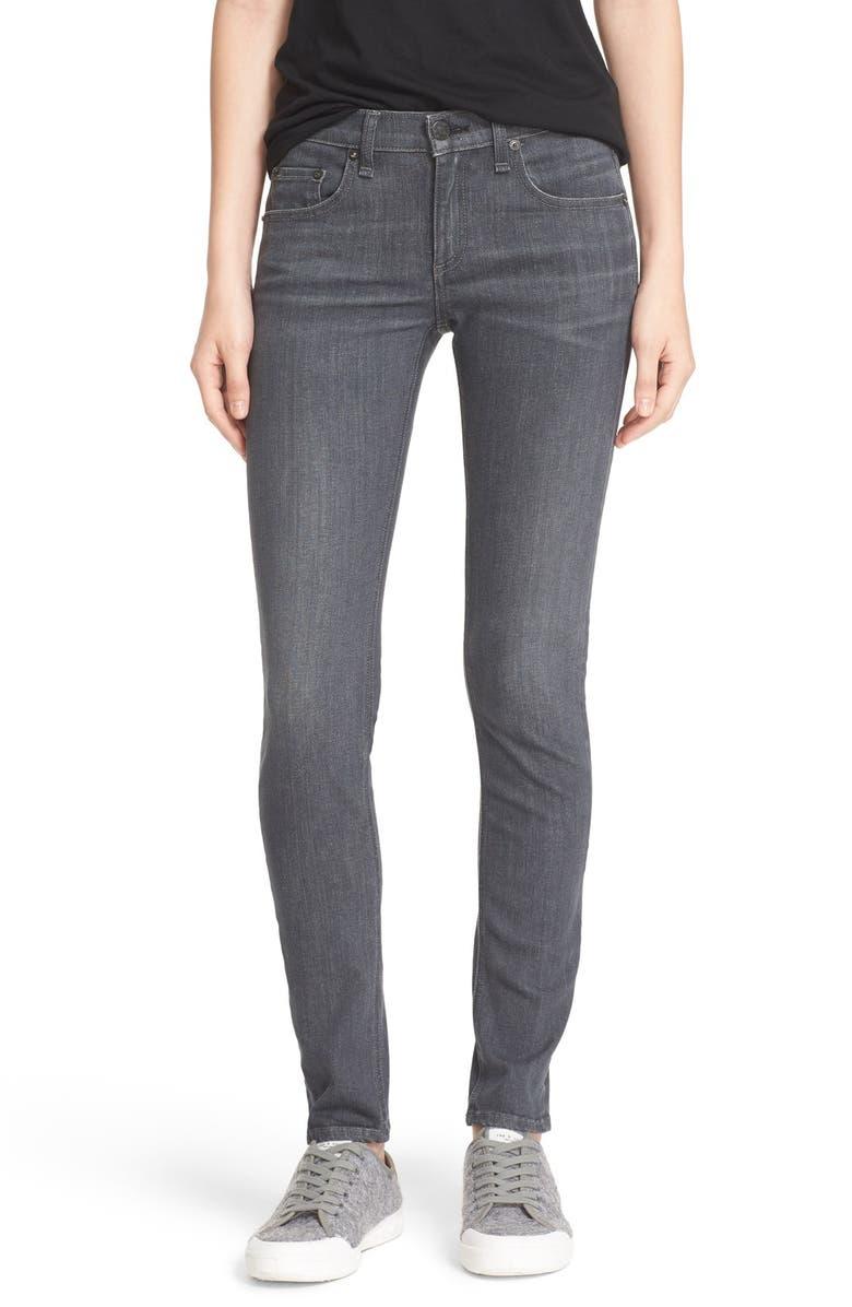 RAG & BONE/JEAN Skinny Jeans, Main, color, 020