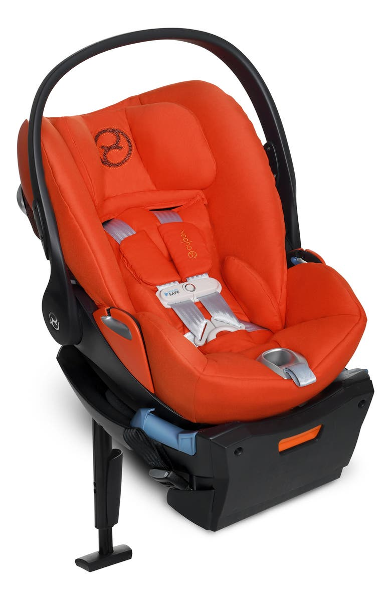 CYBEX Cloud Q SensorSafe<sup>™</sup> Infant Car Seat & Base, Main, color, AUTUMN GOLD