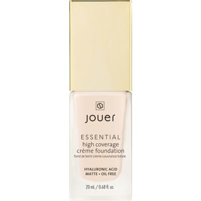 Jouer Essential High Coverage Creme Foundation - Warm Ivory