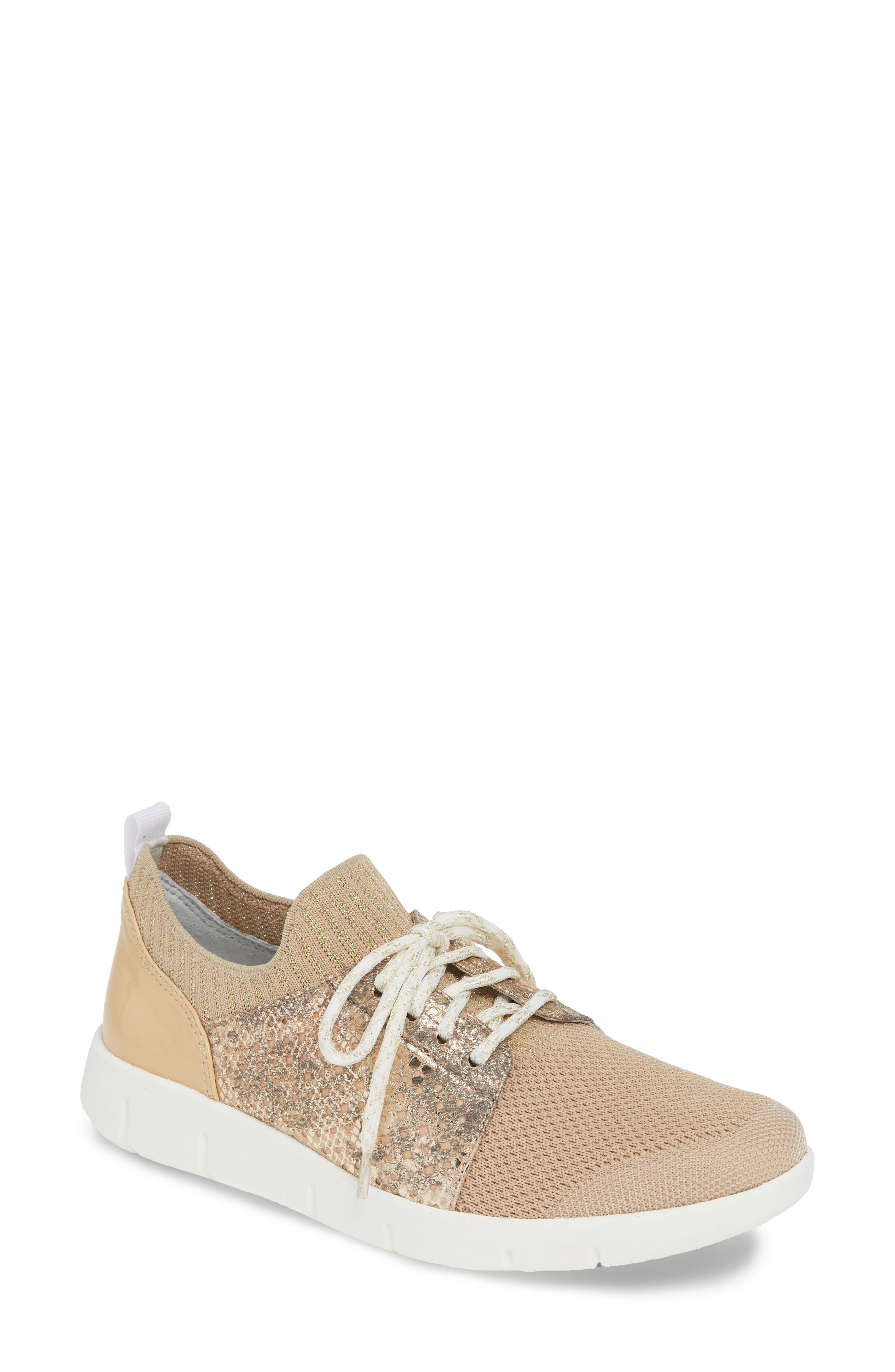 Johnston & Murphy Tamara Sneaker- Beige