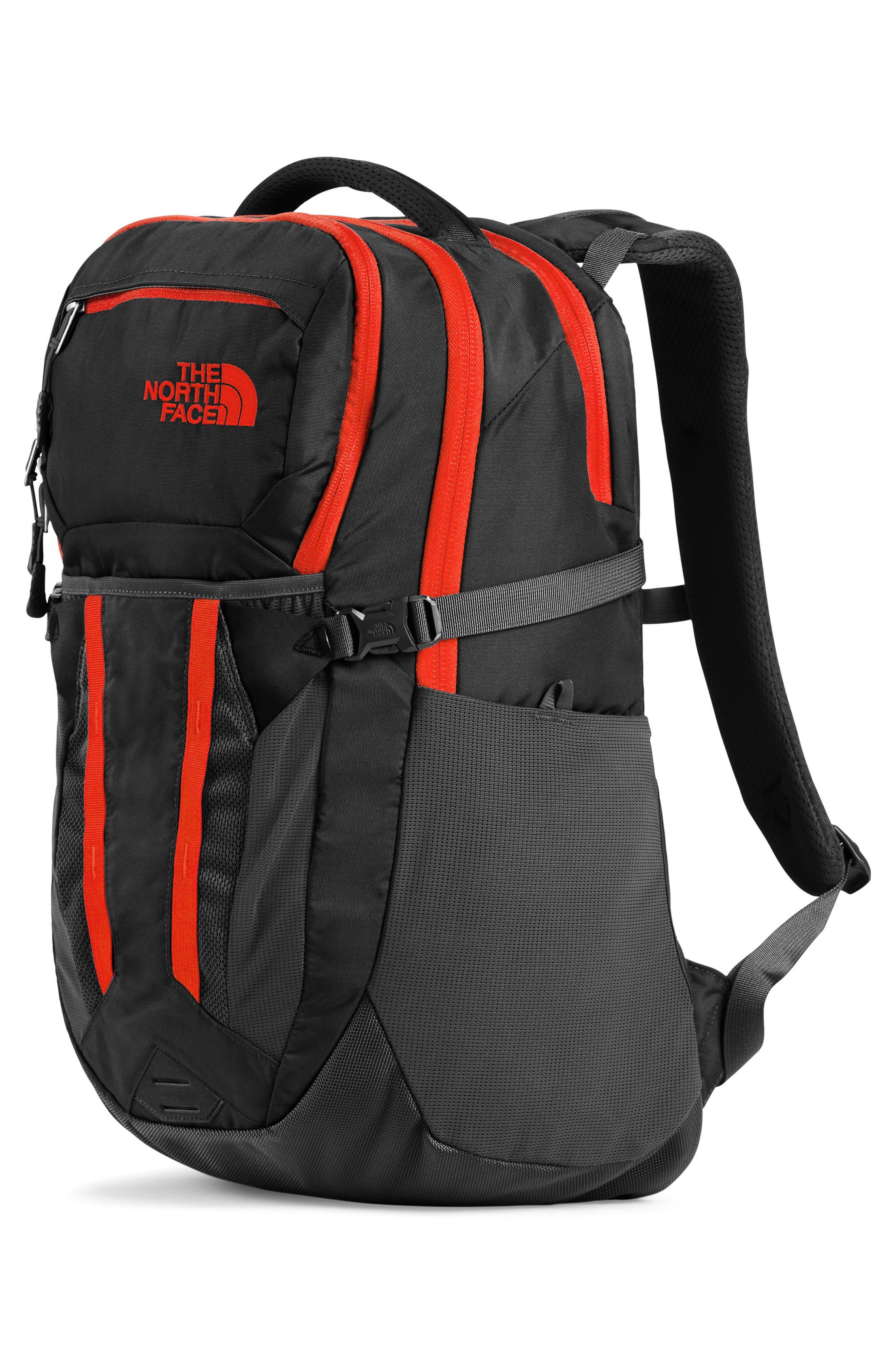 ,                             Recon Backpack,                             Alternate thumbnail 6, color,                             ASPHALT GREY / FIERY RED