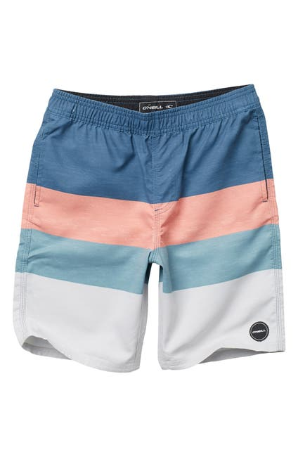 Image of O'Neill Four Square Colorblock Volley Board Shorts