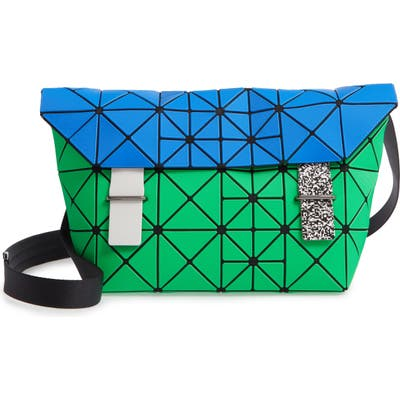 Bao Bao Issey Miyake Pixel Messenger Bag - Green